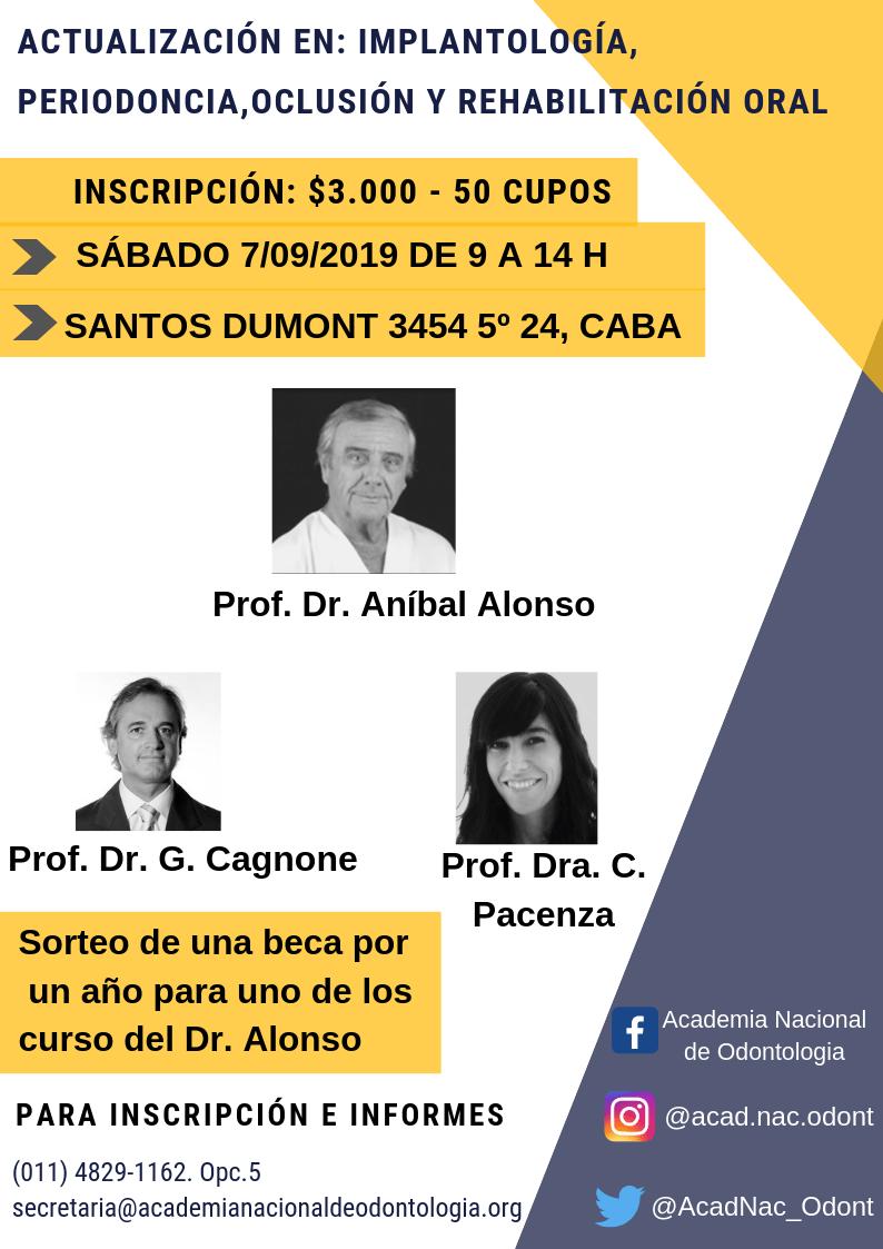 Curso del Dr. Anibal Alonso