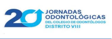20 Jornadas odontológicas del colegio de odontólogos distrito VIII