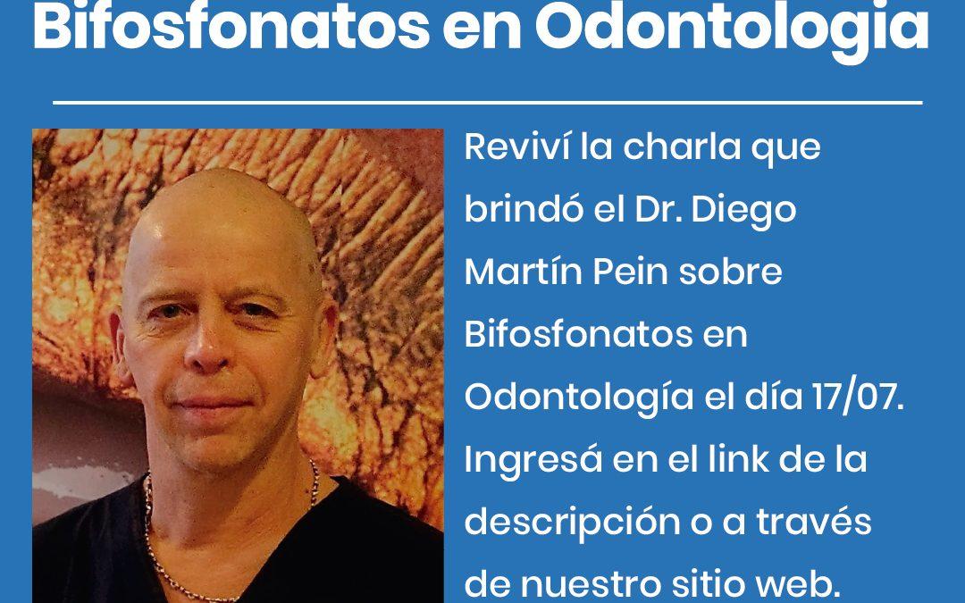 Charla del Dr. Pein sobre Bifosfonatos en Odontología